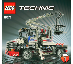 LEGO Bucket Truck Set 8071 Instructions
