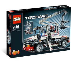 LEGO Bucket Truck Set 8071 Packaging