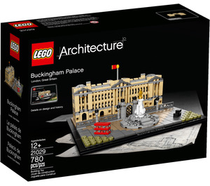 LEGO Buckingham Palace Set 21029 Packaging