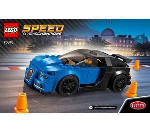 LEGO Bugatti Chiron Set 75878 Instructions