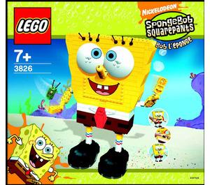 LEGO Build-A-Bob Set 3826 Instructions