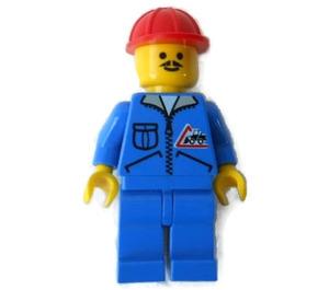 LEGO Bulldozer Driver Minifigure