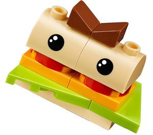 LEGO Burger Person Minifigure