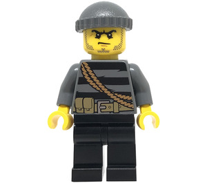 LEGO Burglar with Striped Sweater Minifigure