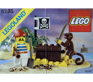 LEGO Buried Treasure Set 6235 Instructions
