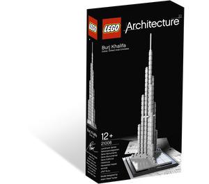 LEGO Burj Khalifa Set 21008 Packaging