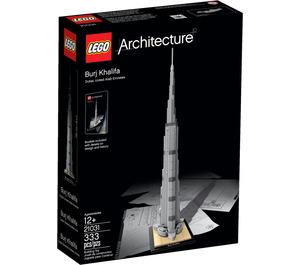 LEGO Burj Khalifa Set 21031 Packaging