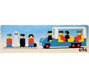 LEGO Bus Station Set 696-1