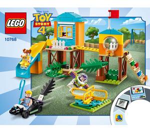 LEGO Buzz and Bo Peep's Playground Adventure Set 10768 Instructions