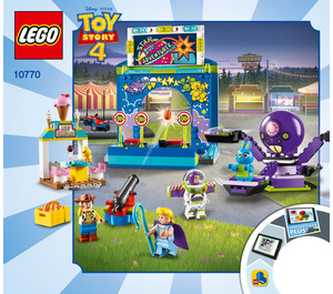 LEGO Buzz & Woody's Carnival Mania! Set 10770 Instructions