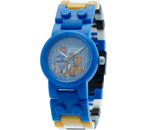 LEGO C 3PO and R2 D2 Minifigure Watch (5005014)