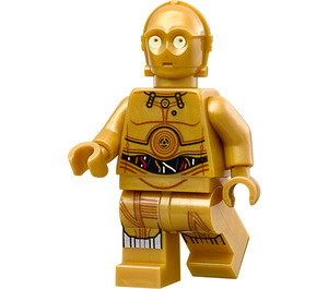 LEGO C-3PO Protocol Droid with Leg Wire Decoration Figurine