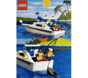 LEGO Cabin Cruiser Set 4011 Instructions
