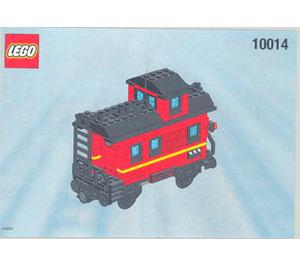 LEGO Caboose Set 10014 Instructions