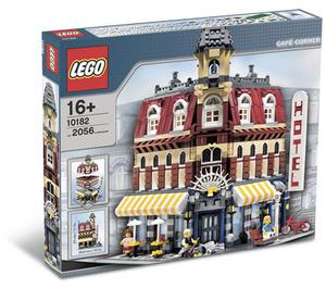 LEGO Cafe Corner Set 10182 Packaging
