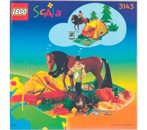 LEGO Camping Trip Set 3143 Instructions