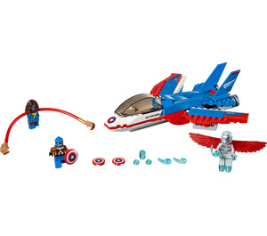 LEGO Captain America Jet Pursuit Set 76076
