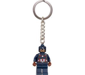 LEGO Captain America Key Chain (853593)