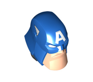 LEGO Captain America Large Figure Head (901 / 76676)