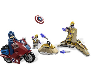 LEGO Captain America's Avenging Cycle Set 6865