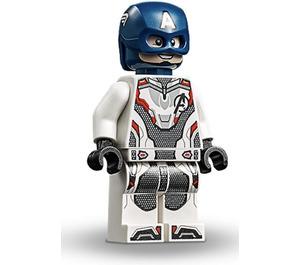 LEGO Captain America with White Jumpsuit Minifigure