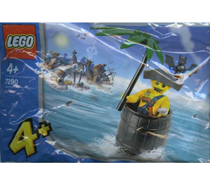 LEGO Captain Kragg in Barrel Set 7290 Packaging