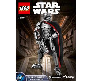 LEGO Captain Phasma Set 75118 Instructions