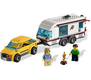 LEGO Car and Caravan Set 4435