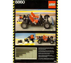 LEGO Car Chassis Set 8860