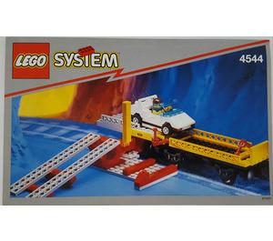 LEGO Car Transport Wagon with Car Set 4544 Instructions