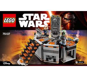 LEGO Carbon-Freezing Chamber Set 75137 Instructions