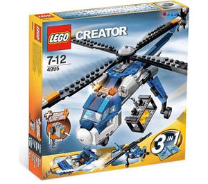 LEGO Cargo Copter Set 4995 Packaging