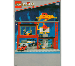 LEGO Cargo Station Set 4555 Instructions