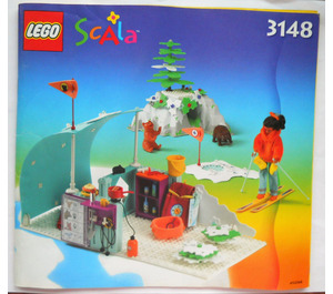 LEGO Carla's Winter Camp Set 3148 Instructions
