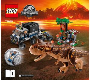 LEGO Carnotaurus Gyrosphere Escape Set 75929 Instructions