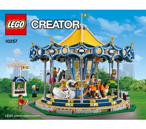 LEGO Carousel Set 10257 Instructions