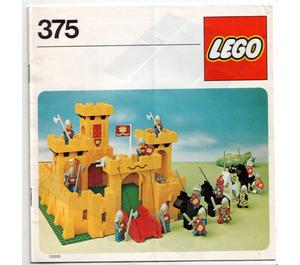 LEGO Castle Set 375-2 Instructions
