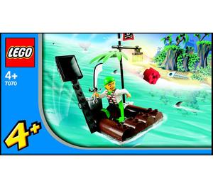 LEGO Catapult Raft Set 7070 Instructions