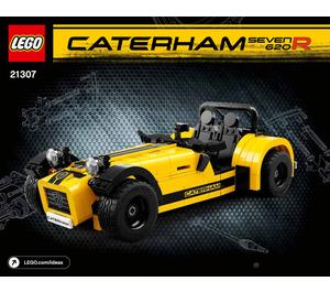 LEGO Caterham Seven 620R Set 21307 Instructions