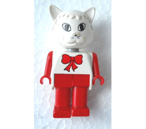 LEGO Catherine Cat 1988 Version Fabuland Minifigure