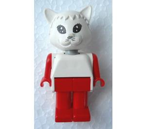 LEGO Catherine Cat Fabuland Figure