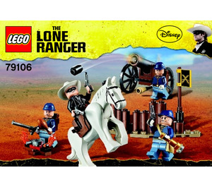 LEGO Cavalry Builder Set 79106 Instructions