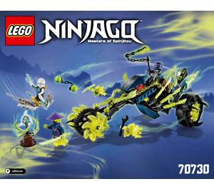 LEGO Chain Cycle Ambush Set 70730 Instructions