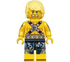 LEGO Chainsaw Dave Minifigure