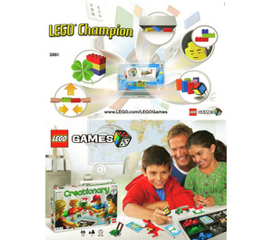 LEGO Champion (3861) Instructions