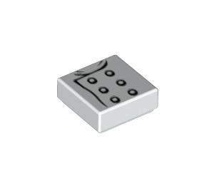 LEGO Chef Éclair (70317) Tile 1 x 1 with Groove (3070 / 23842)