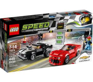 LEGO Chevrolet Camaro Drag Race Set 75874 Packaging