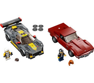LEGO Chevrolet Corvette C8.R Race Car and 1968 Chevrolet Corvette Set 76903