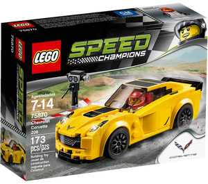 LEGO Chevrolet Corvette Z06 Set 75870 Packaging