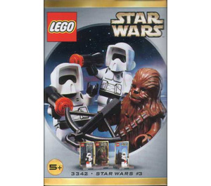 LEGO Chewbacca and 2 Biker Scouts Minifig Pack - Star Wars #3 Set 3342